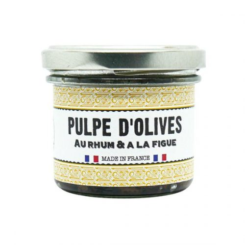 Tartinable pulpe d'olives