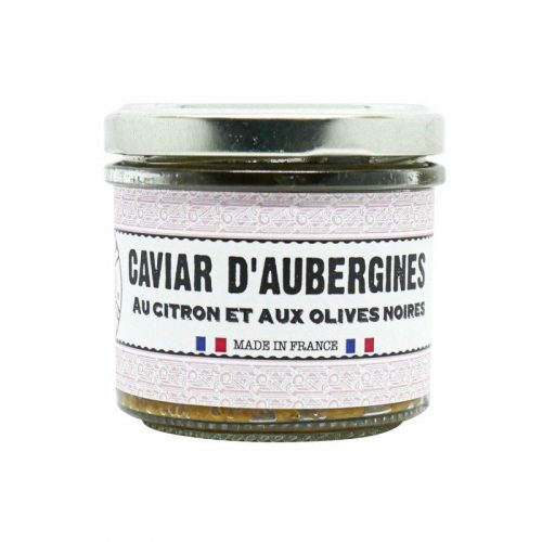 Caviar d'aubergines tartinable