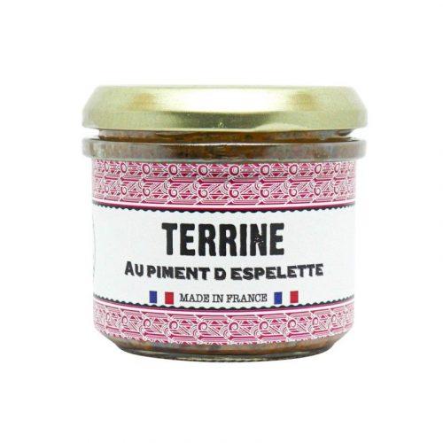Terrine piment d'Espelette